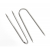 Jewelry Push Pins Nickel 22mm Curve